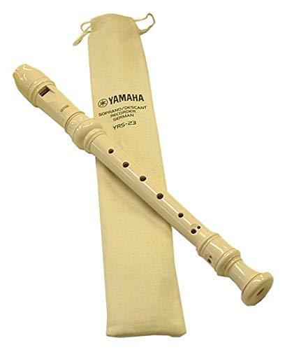 Flauto yamaha soprano con scovolino e custodia qualità superiore yrs 23