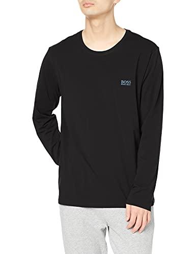 BOSS Mix&Match LS-Shirt R Camiseta de Manga Larga, Charcoal11, XXL para Hombre