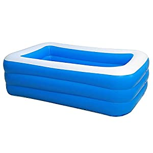 PPLAS 18 0CM 2/3 Piscina Inflable para Adultos para Adultos niños niños Piscina Piscina bañera bañera al Aire Libre Interior Piscina Grande