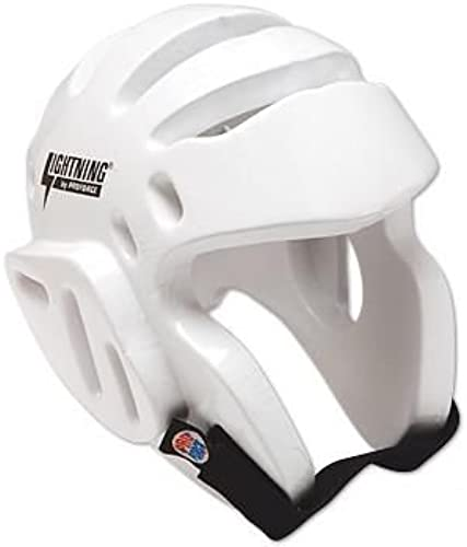 ProForce lumièrening Sparbague Head Guard   Headgear - blanc petit