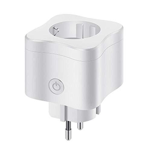 GJNVBDZSF Steckdose, Smart WiFi-Stecker Zeitschaltuhr APP-Steuerung Stromsparende Sorgen Handy-Zeitschaltuhr Remote Smart Plug