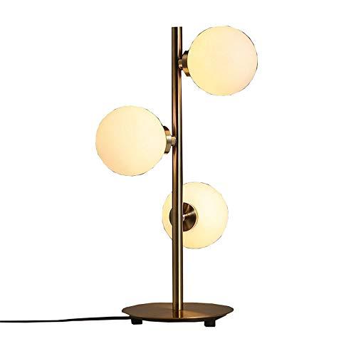 3 Leuchtenkopf schlicht und kreativ klassisch ausstehende Tischleuchte warm Glaskugel goldennem Fuß Tischleuchte/Schlafzimmer / Bett/Wohnzimmer / Restaurant/Hotel Metall Art Deco Tischleuchte
