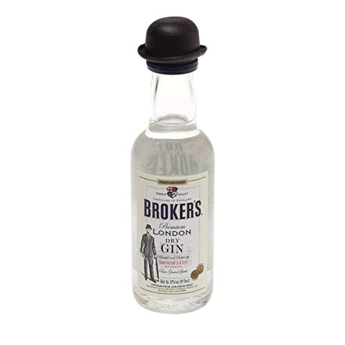 Broker's London Dry 50ml 47% Gin Miniatur
