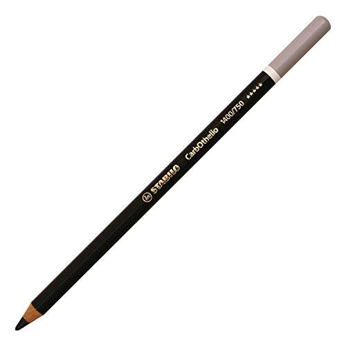 STABILO-Lote de 3 lápices de colores Pastel CarbOthello carboncillo de vela, color...