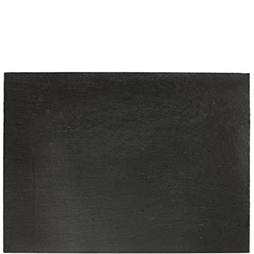 Butlers Plateau Schieferplatte - schwarz - 40 x 30 cm