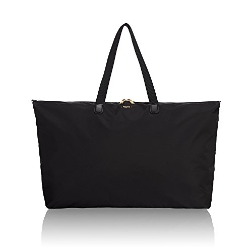 TUMI - Voyageur Just In Case Tote Bag - Lightweight Packable Foldable Travel Bag for Women - Black
