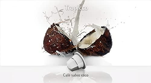 40 x Arabica KAFFEE & Kokosnuss Kapseln Kompatibel mit Nespresso®