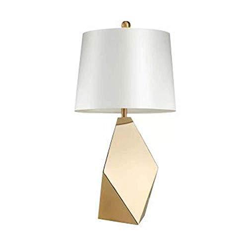 GLYYR Lámpara Techo Colgantes Lámpara de Mesa Hardware Moderno Hierro Arte Oro lámpara de Mesa de Lujo Dormitorio Sala de Estar Arte lámpara de Noche de Metal Poligonal