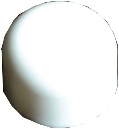 Toilet Bolt Cap White Discount mail order Plastic 10 Indianapolis Mall Pack of Round