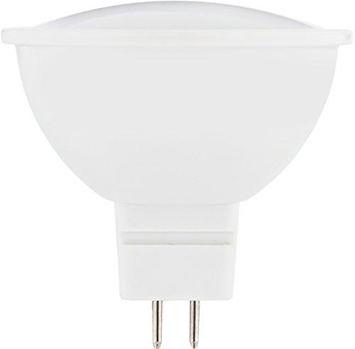 MÜLLER-LICHT 400234 A+, LED Reflektorlampe GU5.3 Essentials, 5 W, 320 Lumen, MR16, Plastik, 5 watts, GU5.3, Weiß, 4.5 x 4.5 x 5 cm