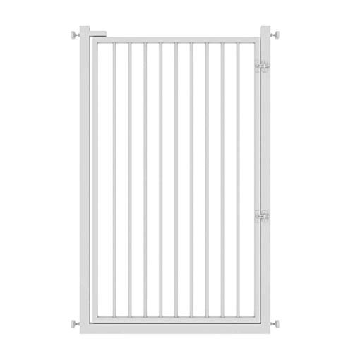Panel Safety Barrier | Open haard scherm | Open haard hek | Hearth Gate | Baby Safety Proof Guard | Huisdier hond kat kerstboom hek | Brede barrière poort met doorloop deur 95-99CM