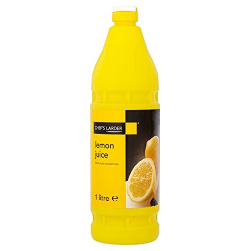 1 L bouteille de jus de citron de Larder de nos chefs