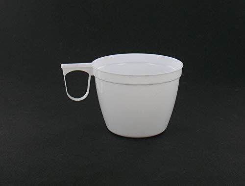 Adiserve 40 Tasses à café Blanche avec Anse 15 cl
