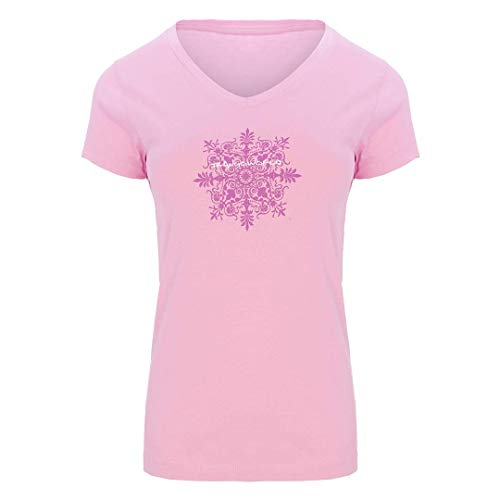 Trangoworld Yogafit T-Shirt Femme, Orchidée, XL
