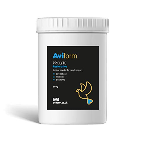 Aviform PROLYTE Probiotic (EU Approved) & Prebiotic Post Race Restorative for Racing Pigeons 500g