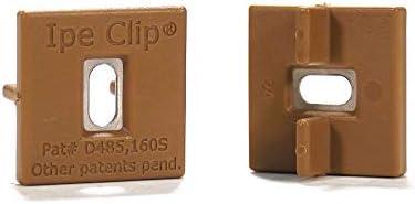 DeckWise Brown Ipe Clip Extreme Hidden Deck Fasteners Bulk 1 000 Hidden Deck Clips Cover 570 product image