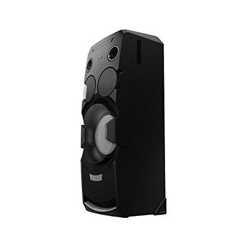 Sony MHC-V7D - Sistema de audio todo-en-uno de 1440 W (Bluetooth, NFC, iluminación LED, efectos DJ y control gestual), color negro
