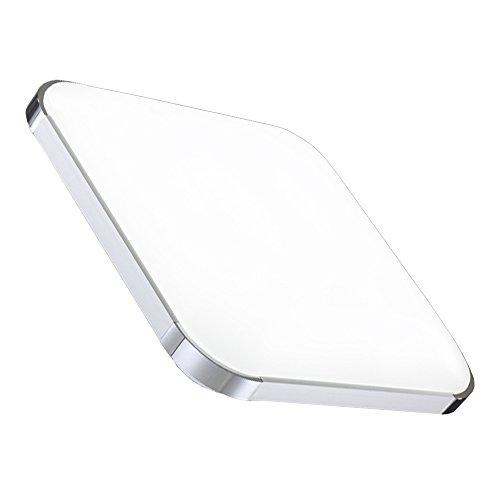 HENGDA® 12W 15W 18W 36W 48W LED Deckenleuchte Modern Deckenlampe 6000K-6500K Weiß Flur Wohnzimmer Lampe Schlafzimmer 85V-265V Energiespar (36W)