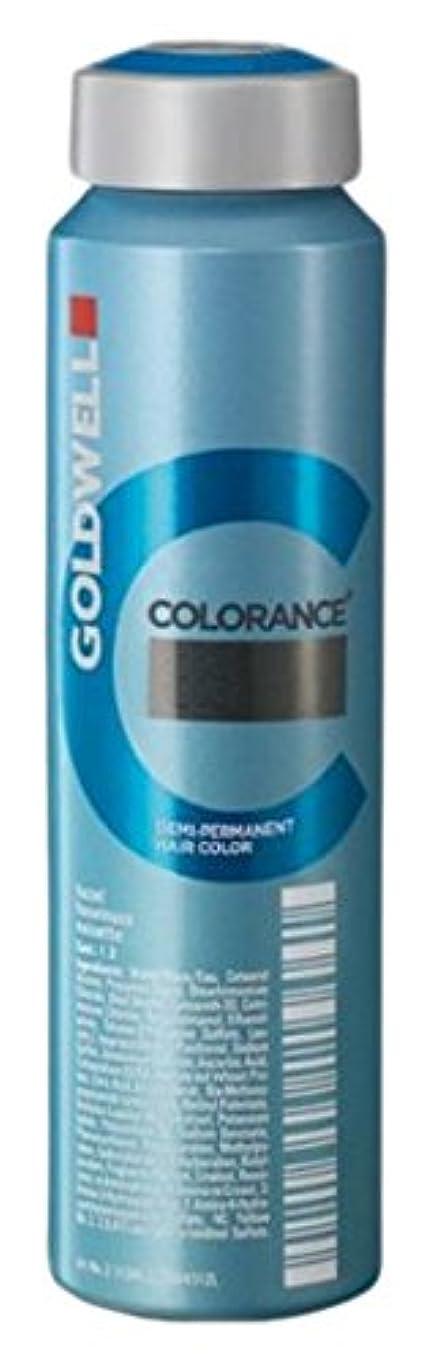 ファランクス芽煙突Goldwell Coloranceデミパーマネントヘアカラー、6rratpk劇的な赤、4.05オンス