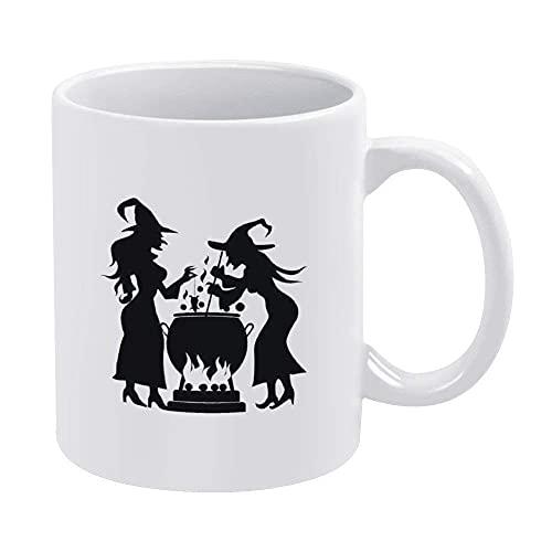 Taza de la bruja Vector, taza de la bruja taza de té de café de cerámica regalo personalizado para el amigo, taza de café personalizada, regalo divertido del día del padre