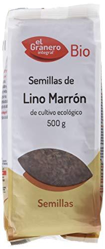 El Granero Integral SEMILLAS DE LINO MARRÓN BIO 500 gr