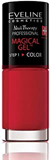 Eveline Cosmetics Magical Gel 2 In 1 Long Lasting Professional Manicure,Light Red-07