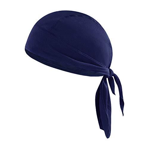 Sport Bandana Cap Hat schnell-trocknend, Anti-UV Schutz, Damen Herren Kopftuch Piratenmütze Bikertuch Stirnband Fahrrad Radsport Motorrad Kopfbedeckung Mütze