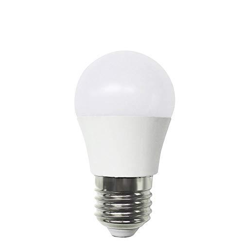 Bombilla LED Esférica E27 7,4W Equi.60W 806lm 15000H 3000K Raydan Home