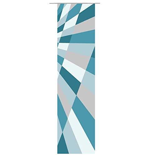 JEMIDI Flächenvorhang - Living- Schiebegardine Flächen Vorhang Raumtrenner Gardine Vorhang Schal (Design_155166_6819, Polyester)