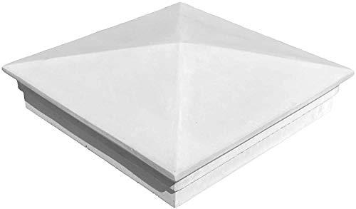 TRAX 2 x Beton Pfeiler Abdeckung mit Kante für Zaunpfeiler 1018 L x B x H: 56 x 56 x 10 cm