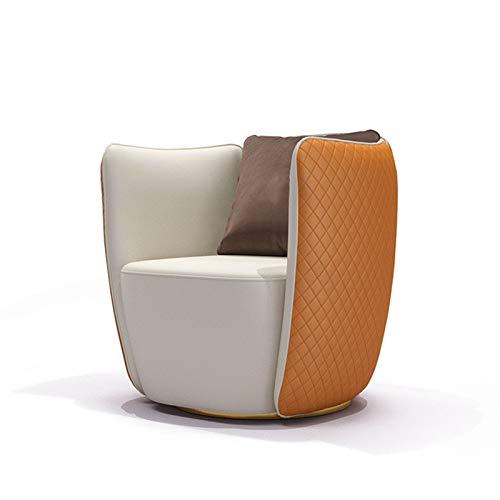 ZoSiP Sofá 1 Asiento Sofá Vivo Piel sillón cómodo Modernas del diseñador del sofá de Cuero Villa Hotel Club Individual Negociación Sofá Silla de Primera Calidad Sofá Salón de Asiento único