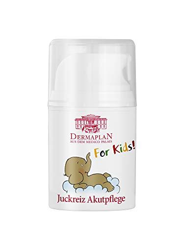 Dermaplan Juckreiz Akutpflege For Kids - Piel seca & Juckreiz agudo de manera eficaz de aliviar la irritación de la piel 50ml
