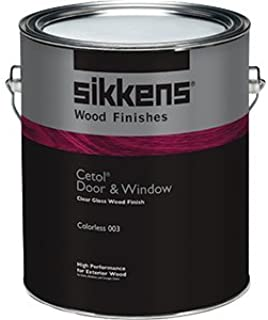 Sikkens SIK49003.01 1 Gallon Cetol Door & Window - Gloss Colorless 003
