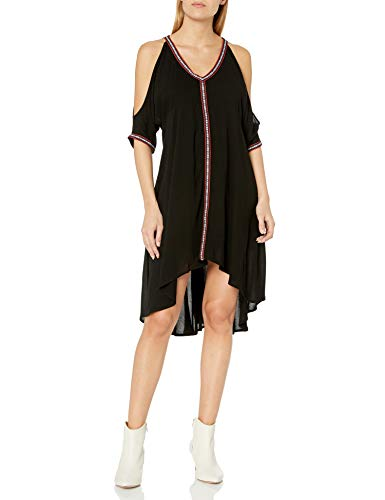 JACK by BB Dakota Damen Kleid Arik Cold Shoulder Dress - Schwarz - Klein