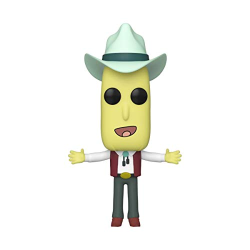 Funko- Pop Animation: Rick & Morty-Mr. Poopy Butthole Auctioneer Rick and Morty Collectible Toy, Multicolor (45439)