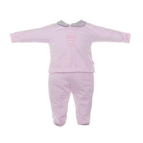 Cambrass 37865 Grenouillère, Rose (Rosa 3), Neonato (Taille Fabricant: 0) Bébé Fille