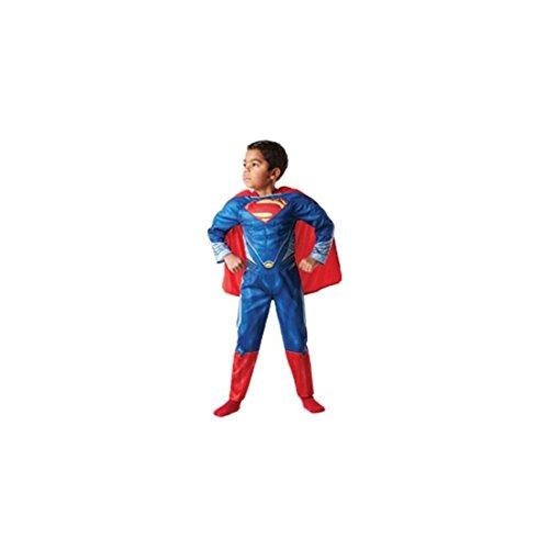 Rubie`s - Muscoloso costume bambino Superman Man of Steel% 22% 22 box (888 342-S)