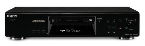 Sony MiniDisc Player MDS-JE480 B HiFi minidisc Player Negro
