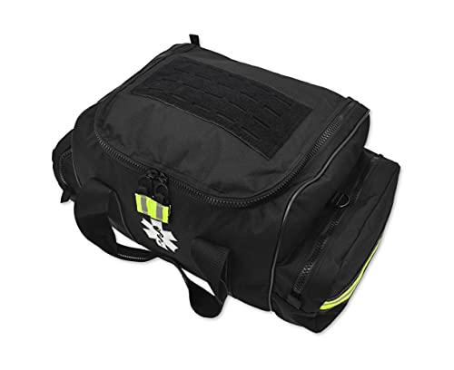 Lightning X Large EMT Medic First Responder EMS Tactical Trauma Bag w/Dividers (Stealth Black)