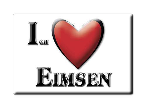 Enjoymagnets EIMSEN (NI) Souvenir Deutschland Niedersachsen Fridge Magnet KÜHLSCHRANK Magnet ICH Liebe I Love