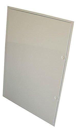 Revisionstür 50 x 70 cm (bxh) weiß incl. Vierkantverschluss mit Schlüssel