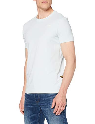 G-STAR RAW Slim Base Camiseta, Gum C723-803, M para Hombre
