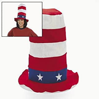 40e66d8378ed2 Patriotic Stovepipe Hat - Hats   Party Hats