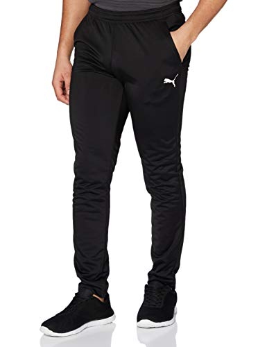 PUMA Herren LIGA Training Pant Core Hose, Black White, L
