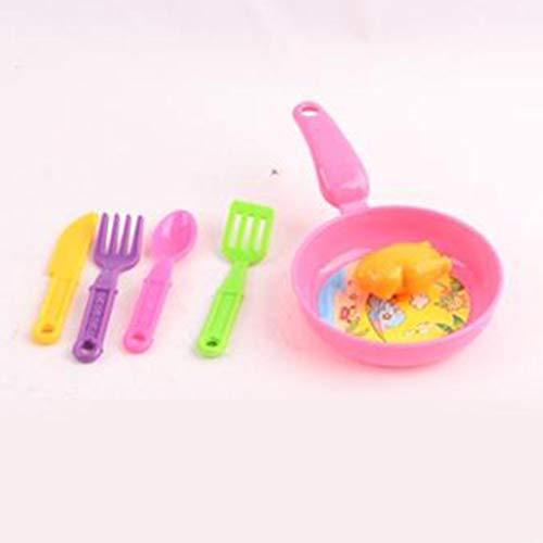 Kinderen Kind Keuken Fantasiespel Koken Speelset Moeder en baby Educatief speelgoed Servies Speelgoed met een pan