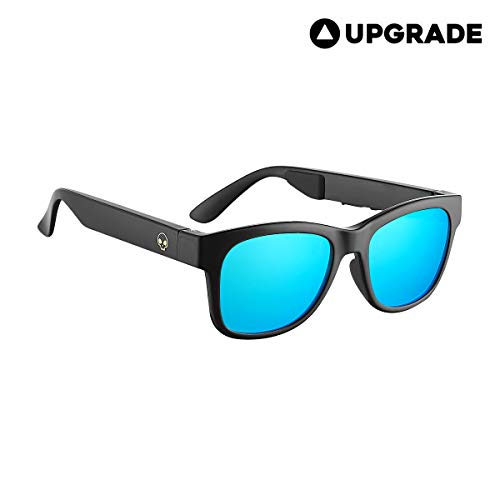 VOCALSKULL Alien 5 Bone Conduction Glasses Polarized Sunglasses Wireless Bluetooth Headset Sports...