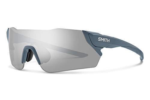 Smith Optics Attack MAG ChromaPop Sunglasses, Matte Iron/ChromaPop Platinum Mirror, One Size