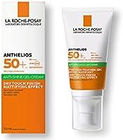 La Roche Posay Anthelios Toque Seco FPS 50+ Protector Solar Facial para Piel Grasa, 50 ml (el empaque puede variar)