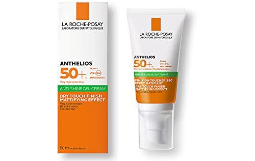 La Roche-Posay ANTHELIOS XL, Gel-crema Toque Seco Anti Brillo, SPF 50+ , 50 ml