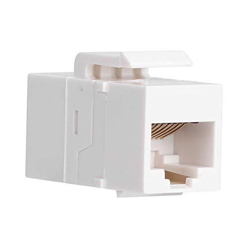 Fafeicy Accoppiatore Ethernet, Modulo di Rete Non Schermato CAT5E da 3 Pezzi, Componente Elettronico per Informazioni di Rete Diritte RJ45, per Ingegneria di Rete e Miglioramento Domestico